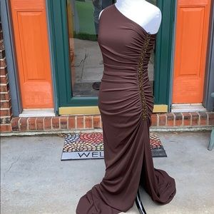 NWT Laundry by Shelli Segal beaded gown Sz 6